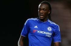 Tammy Abraham playing for Chelsea's U-21