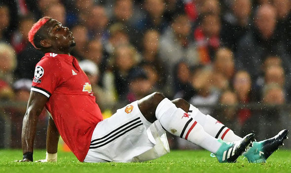 Paul Pogba injury