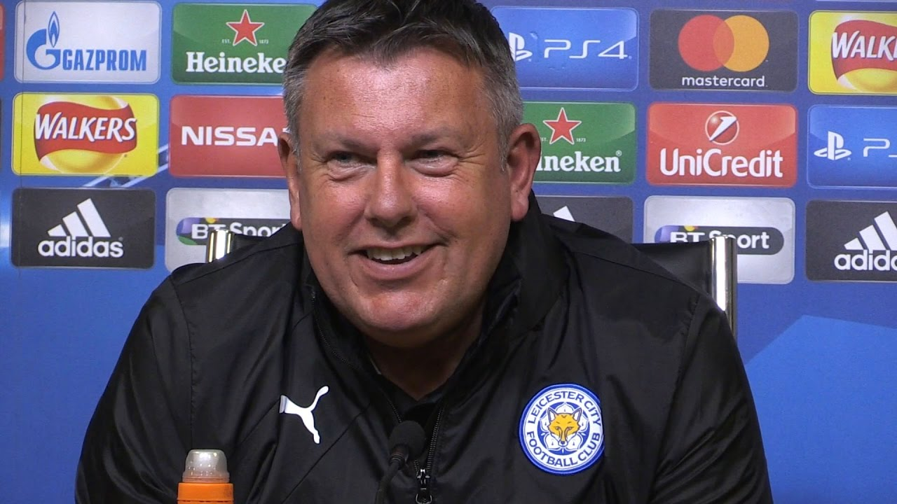 Craig Shakespeare press conference