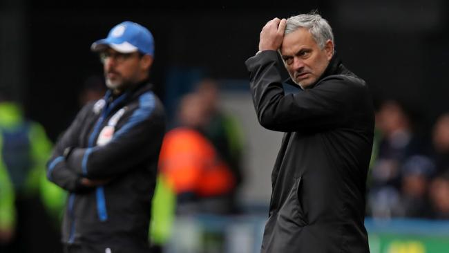 Jose Mourinho and David Wagner