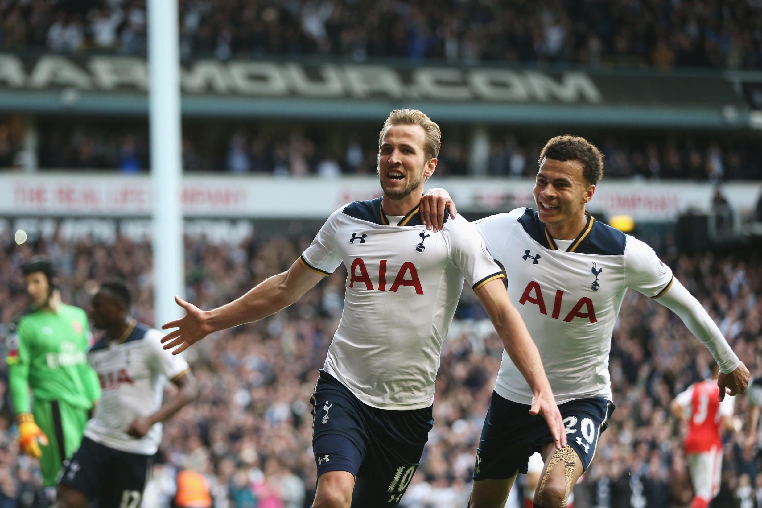 Harry Kane and Dele Alli