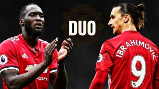 Zlatan Ibrahimovic and Romelu Lukaku