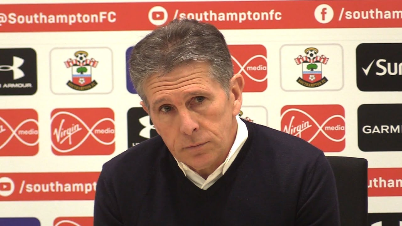 Claude Puel press conference