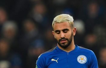 Riyad Mahrez still on Leicester strike
